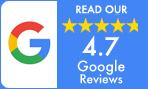 google rating 4.7